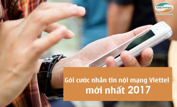 Thông tin các gói nhắn tin nội mạng Viettel mới nhất