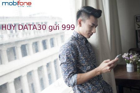 Cách hủy gói Data30 mobifone cho thuê bao Fast connect