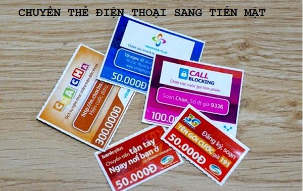 Hướng dẫn cách đơn giản nhất để chuyển thẻ điện thoại sang tiền mặt