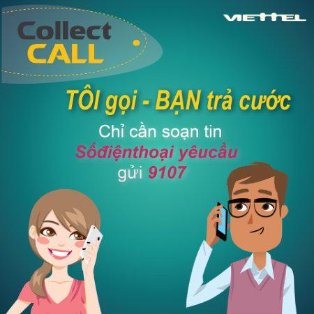 Hướng dẫn cách đăng ký dịch vụ Collect Call Viettel - Người nghe trả tiền