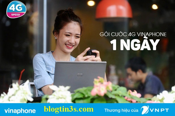 Cách đăng ký các 4G 1 ngày Vinaphone nhanh và dễ nhất!