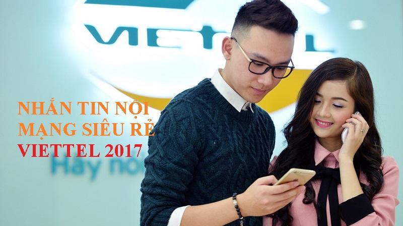 Thông tin chi tiết các gói nhắn tin nội mạng siêu rẻ của Viettel 2017