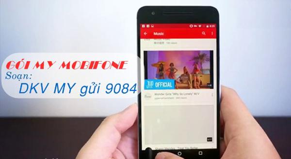 Đăng ký gói My Mobifone miễn 100% cước xem Youtube và FPT Play