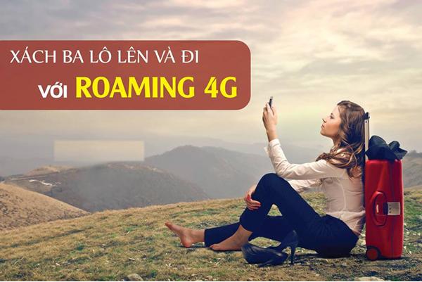 Hướng dẫn đăng ký dịch vụ Data Roaming 4G Viettel khi ra nước ngoài