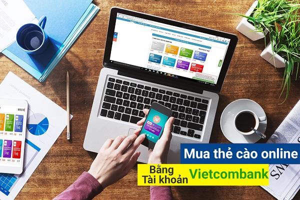 Hướng dẫn nhanh cách mua thẻ điện thoại online qua vietcombank