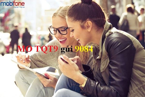 Gói cước gọi quốc tế Mobifone - TQT9 chỉ 9000 đ/ngày