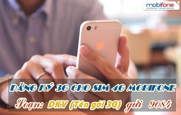 Sim 4G Mobifone có sử dụng được các gói cước 3G hay không?