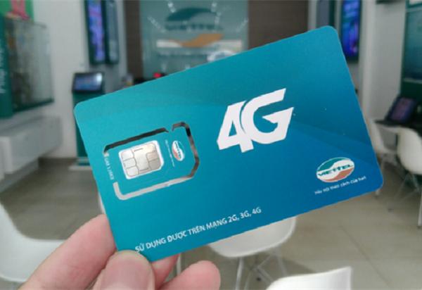 Hướng dẫn cách đổi sim 4G Viettel online