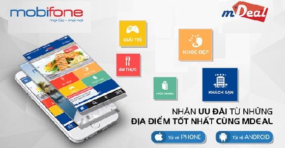Hướng dẫn cách đăng kí dịch vụ mDeal Mobifone  nhanh nhất
