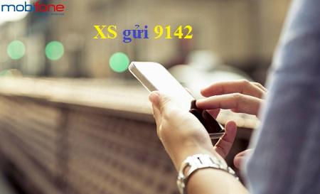 Hướng dẫn đăng kí dịch vụ xổ số mobifone từ 9142