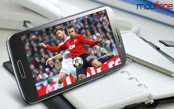 Hướng dẫn cách chọn gói cước 3G mobifone xem bóng đá trực tuyến