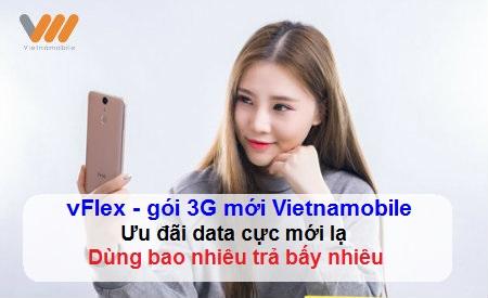 Hướng dẫn đăng kí gói cước vFlex của Vietnamobile