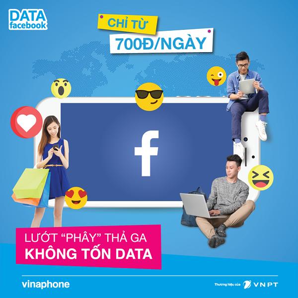 Hướng dẫn sử dụng gói cước data facebook Vinaphone