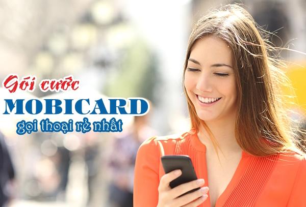 Sim MobiCard – Gói cước gọi rẻ nhất của Mobifone