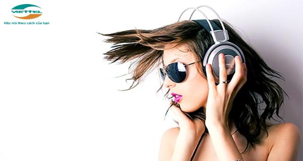 Đăng ký gói nghe nhạc Viettel với sim nghe nhạc mới