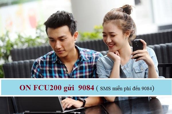 Hướng dẫn nhanh cách đăng kí gói FCU200 Mobifone