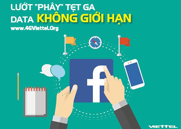 Thông tin các gói 4G facebook Viettel bạn nên biết