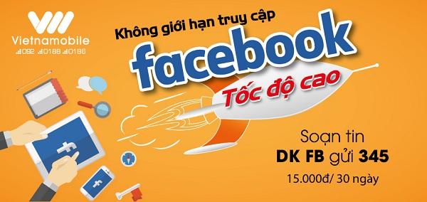 Hướng dẫn đăng kí sử dụng gói cước OTT facebook của Vietnamobile