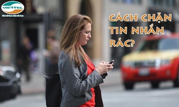 Cách chặn tin nhắn rác, tin quảng cáo cho sim Viettel