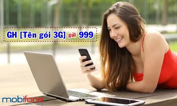 Hướng dẫn chi tiết cách gia hạn gói 3G mobifone
