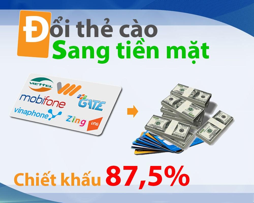 Hướng dẫn đổi thẻ cào thành tiền đơn giản trên DOITHE66.COM