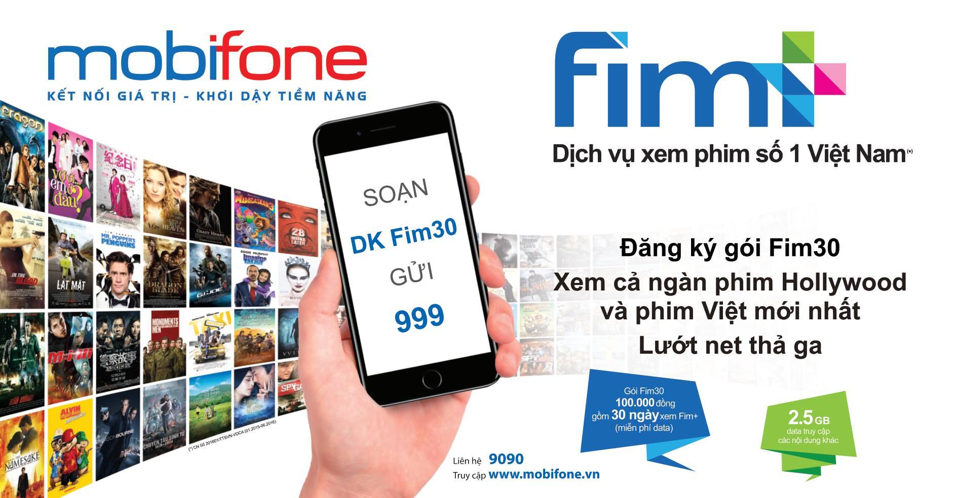 Ưu đãi hấp dẫn với gói cước FIMB30 Mobifone