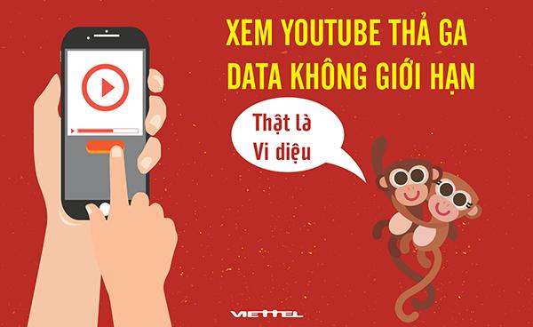 Xem phim thoải mái với gói cước Youtube YT30 của Viettel