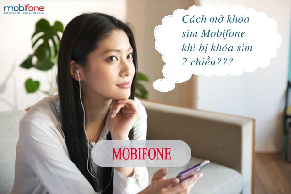 Cách mở khóa sim Mobifone nhanh nhất