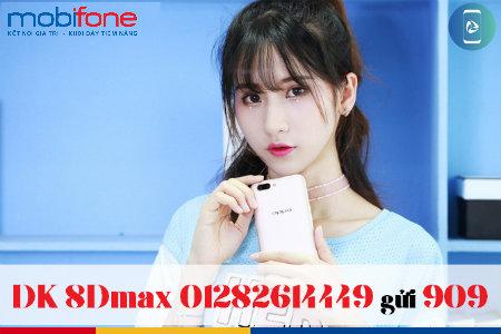 Thực hư việc nhận 100Gb data với gói 8DMAX Mobifone 50k/tháng?