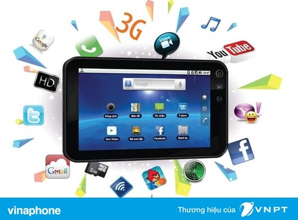 Gói cước 3G vinaphone thích hợp cho máy tính bảng