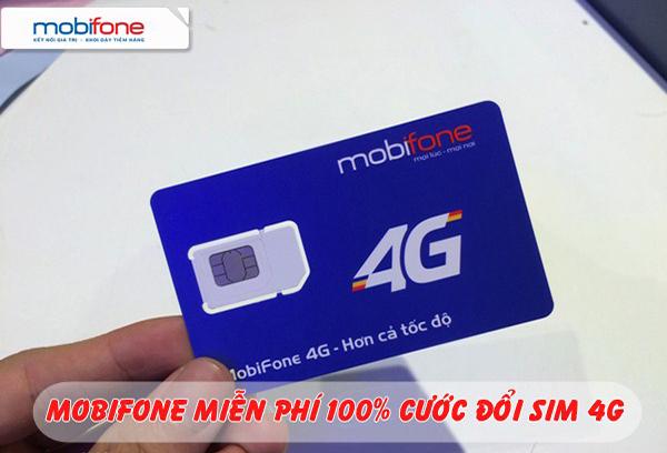 Hướng dẫn đổi Sim 4G Mobifone miễn phí nhanh nhất