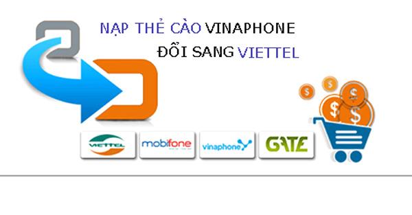 Cách đổi card Vinaphone thành Viettel nhanh