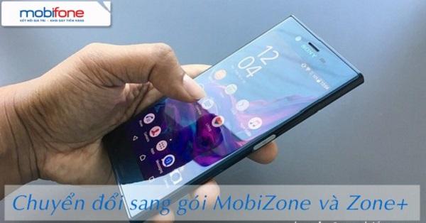 Chuyển đổi sang gói cước MobiZone, Zone+ Mobifone như thế nào?