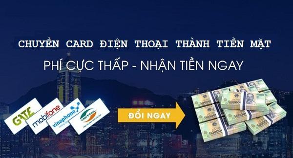 Tại sao nên chuyển card điện thoại thành tiền mặt tại Napthe365.com