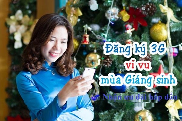 Tận hưởng không khí giáng sinh cùng với 3G viettel