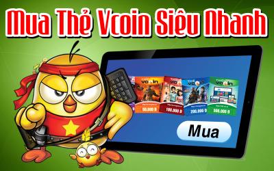 Cách mua thẻ Vcoin online nhanh nhất ở đâu?
