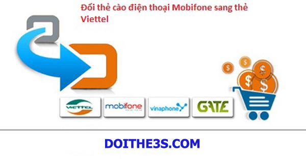 Hướng dẫn cách đổi thẻ Mobi sang Viettel cực nhanh