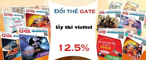 Hướng dẫn nhanh cách đổi thẻ gate lấy thẻ viettel