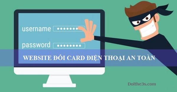 Doithe3s - Nơi đổi card thành tiền an toàn mà tiện lợi nhất