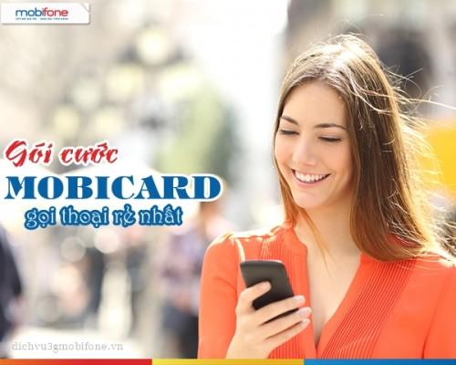 Tiết kiệm chi phí tối đa với gói cước Mobicard của Mobifone