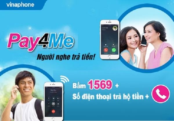 Gọi thả ga khi hết tiền với dịch vụ Pay4Me Vinaphone