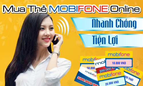 Mua thẻ cào điện thoại Mobi online ở đâu uy tín?