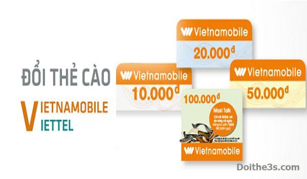 Cách đổi thẻ cào Vietnamobile sang thẻ Viettel cực dễ