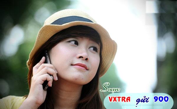 Thả ga tám điện thoại chỉ 690đ/phút khi đăng ký gói Vxtra Vinaphone