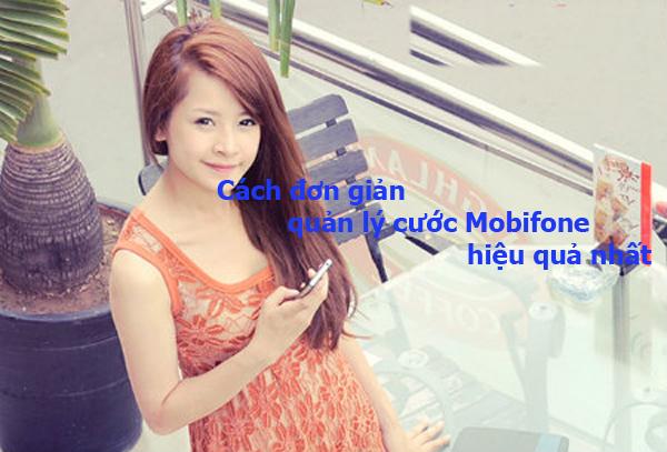 Những cách đơn giản quản lý cước Mobifone hiệu quả nhất
