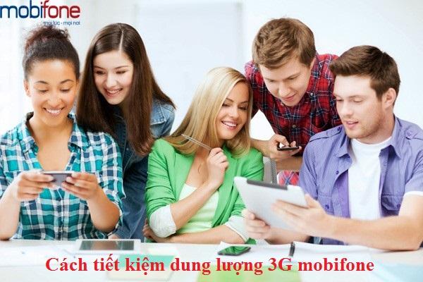 Hướng dẫn cách tiết kiệm 3G mobifone trên điện thoại di động
