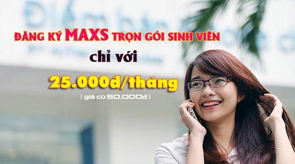 Cú pháp đăng ký gói Maxs sinh viên Vinaphone