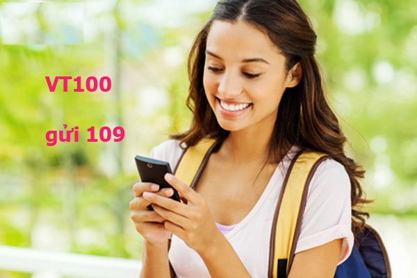 Chỉ 2.500đ, đăng ký gói VT100 nhắn tin 550 sms nội mạng mỏi tay