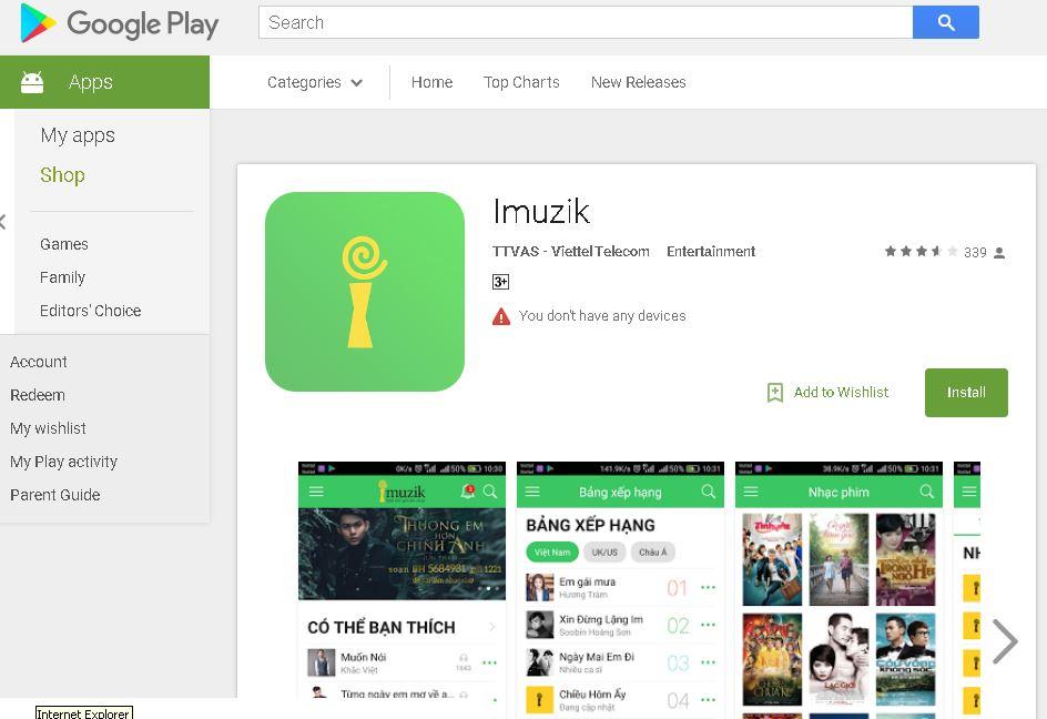 Ưu đãi cài nhạc chờ Viettel miễn phí với ứng dụng Imuzik