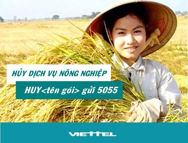 Làm sao hủy dịch vụ Nông nghiệp của Viettel nhanh chóng nhất?